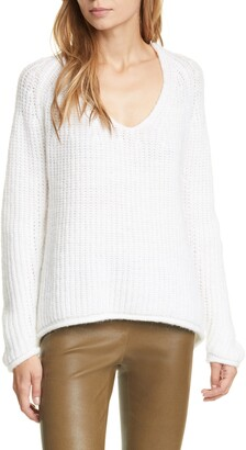 Rag & Bone Joseph Rib V-Neck Sweater