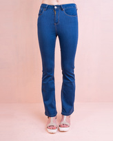 Missy Empire DW Stretch Kick Flared Jeans