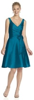 Alfred Sung D624 Bridesmaid Dress in Caspian
