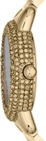 Marc by Marc Jacobs 'Marci' Mirror Dial Crystal Bezel Watch, 36mm