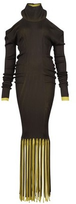 Bottega Veneta Rib fringe dress