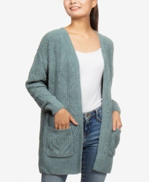 Hippie Rose Juniors' Chenille Cardigan