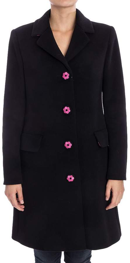 Moschino Virgin Wool And Cashmere Coat