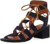 Frye Chrissy Asymmetric Lace-Up Ghillie Sandal