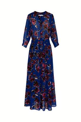 Gerard Darel Solidea - Long Printed Muslin Dress