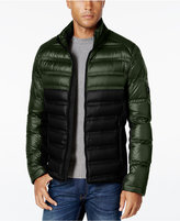 Michael Kors Quilted Colorblocked Down Jacket