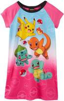 "Pokemon Big Girls' ""Everybody Run!"" Nightgown"