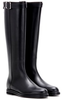 Loro Piana Wilshire leather knee-high boots