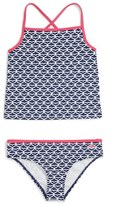 Vineyard Vines Girl's Whale Tail Two-Piece Swimsuit