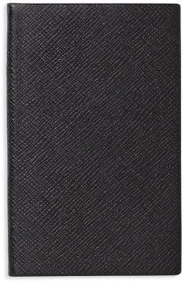 Smythson Panama Untitled Leather Notebook