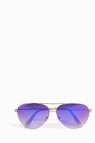 Victoria Beckham Watercolour Aviator Sunglasses