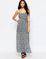 Brave Soul Printed Cami Maxi Dress
