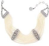 Ben-Amun Women's Ben X Imitation Pearl Collar Necklace