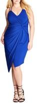 City Chic Plus Size Women's So Seductive Faux Wrap Dress
