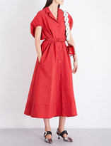 Rosie Assoulin Have The Wind At Your Back cloqué shirt dress