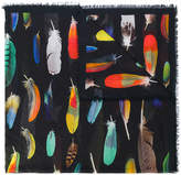 Paul Smith all over feather scarf