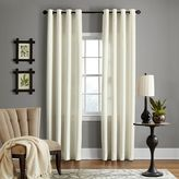 Veratex Brooklyn Linen Grommet Window Curtain Panel