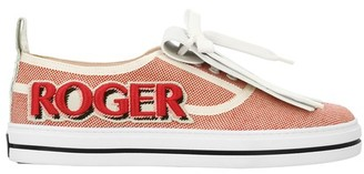 Roger Vivier Viv Call Me Vivier Patch trainers