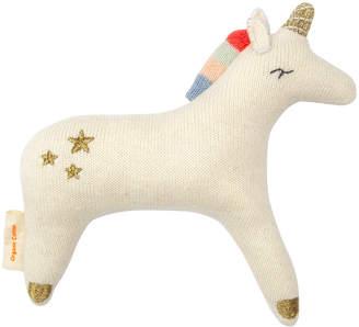 Meri Meri - Knitted Baby Rattle - Unicorn