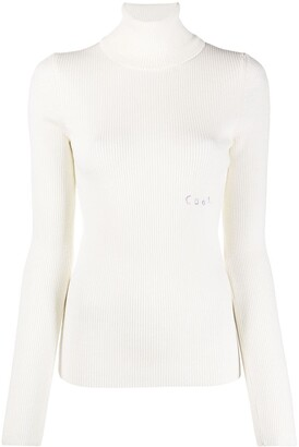 COOL T.M High Neck Knitted Jumper