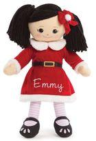Asian Santa Dress Doll in Red
