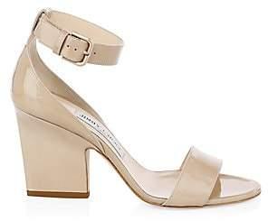 Jimmy Choo Women's Edina Patent Leather Ankle-Strap Sandals