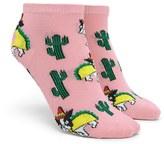 Forever 21 FOREVER 21+ Sombrero Dog Taco Ankle Socks