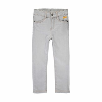 Steiff Girls' mit suer Teddybarapplikation Jeans