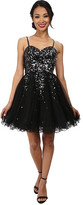 Alejandra Sky Hayley Sequin Short Dress