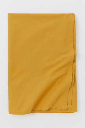 H&M Cotton Tablecloth - Yellow