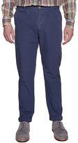 Ben Sherman Slim-Fit Blue Chino Pants