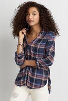 American Eagle Outfitters AE Ahh-mazingly Soft Boyfriend Plaid Shirt