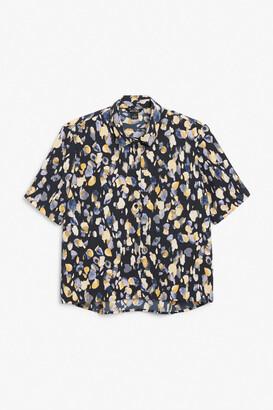 Monki Boxy blouse
