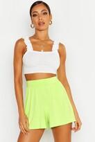 boohoo Basic Jersey Flippy Shorts