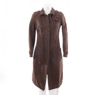 Neil Barrett Brown Cotton Jacket for Women