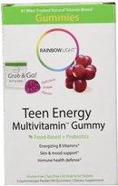 Rainbow Light Teen Energy Gummy Multivitamin - 30 ct