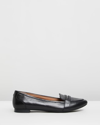 Vionic Women's Black Ballet Flats - Savannah Flats - Size One Size, 5 at The Iconic