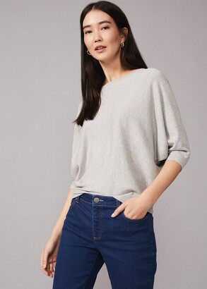 Phase Eight Cristine Fluro Knit Top