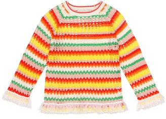 Stella McCartney Kids Crochet sweater