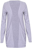 Purple Hanger PurpleHanger Women's Long Sleeve Open Cardigan Top Plus Size 16-18
