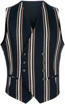 Tagliatore Klaus double breasted waistcoat