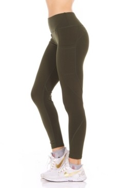 Therapy Perforated Side Pockets Leggings