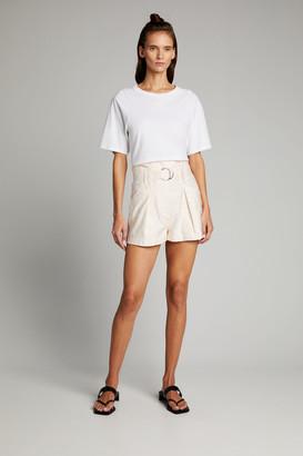 IRO Bordina Paperbag-Waist Shorts