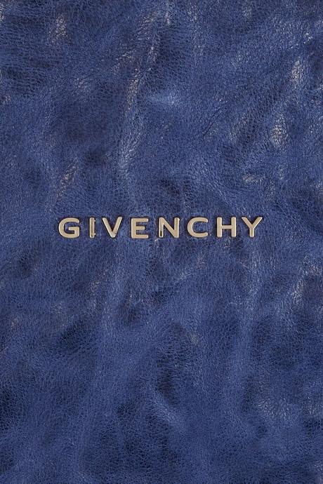 Givenchy Medium Pandora bag in blue washed-leather