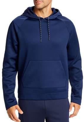 Michael Kors Mixed-Media Scuba Hooded Sweatshirt