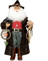 Karen Didion Originals Cowboy Santa