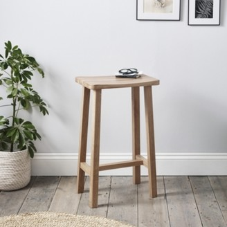 The White Company Oak Bar Stool, Natural, One Size