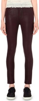 Paige Margot skinny coated high-rise jeans