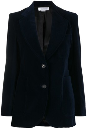 Victoria Beckham Tailored Patch Pocket Blazer