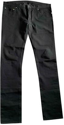 Christian Dior Black Cotton - elasthane Jeans